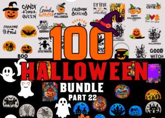 Halloween SVG Bundle part 22, Halloween svg, Ghost svg, Hocus Pocus svg, Pumpkin svg, Boo svg, Trick or Treat svg, Witch svg, Cricut, Silhouette PNG