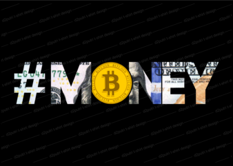 bitcoin crypto t shirt design, money t shirt design, dollar t shirt design,