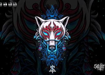 Fox Kitsune Mask