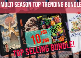Evergreen Mixed Multi Season Bundle Top Trending Best Selling 4k PSD + PNG