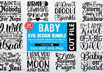 Baby svg bundle t shirt template