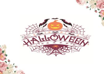 Pumpkin Halloween Diy Crafts Svg Files For Cricut, Silhouette Sublimation Files