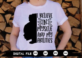 i believe in myself and my abilities svg