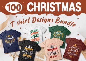 Christmas t shirt design bundle vector, Christmas svg bundle, Christmas quotes bundle for t-shirt, Christmas typography style