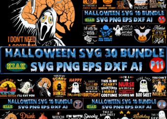 Halloween SVG T-Shirt Design 30 Bundle Part 11, Halloween SVG Bundle, Halloween Bundle, Halloween Bundles, Bundle Halloween, Bundles Halloween Svg, Boo Sheet, Pumpkin scary Svg, Pumpkin horror Svg, Boo Sheet Svg, Halloween Party Svg, Scary Halloween Svg, Spooky Halloween Svg, Halloween Svg, Horror Halloween Svg, Witch scary Svg, Witch Svg, Horror Ghost, Pumpkin Svg, Trick or Treat Svg, Ghost Svg, Halloween 2021 Svg, Nurse Halloween, Hocus pocus Svg, Witches Svg, Boo Sheet Png, Happy Halloween