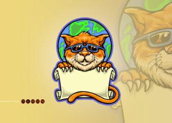 International World Cat Day Template