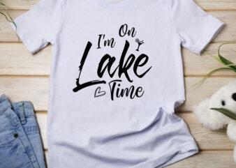 I'm on Lake Time