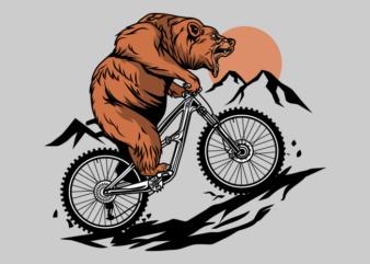 MOUNTAIN BIKE BEAR