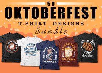 Oktoberfest t-shirt designs quotes bundle, Beer quotes, party, Oktoberfest event sublimation bundles, autumn theme,
