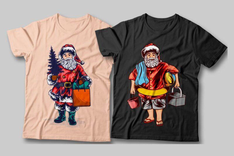 Cool Santa Claus Illustration