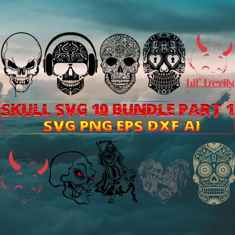 Skull SVG 40 Bundle Part 10, Bundle Skull, Skull SVG Bundles, Bundles Skull, Skull Bundle, Halloween Bundles, Bundle Halloween, Sugar Skull Bundle, Calavera Skull Svg, Halloween Svg, Day of the dead, Halloween, Halloween Party Svg, Skull svg, Mandala Skull Svg, Mexican Skull vector, Skull logo, Human Skull, Sugar skull with roses Svg, Skull Tattoos Svg, Headband and flowers, Skull vector, Skull with flower Svg, Sugar Skull logo, Sugar Skull svg, Sugar Skull vector, Skull with flower svg, Sugar Skull Wreath, Head Skull Skeleton Svg