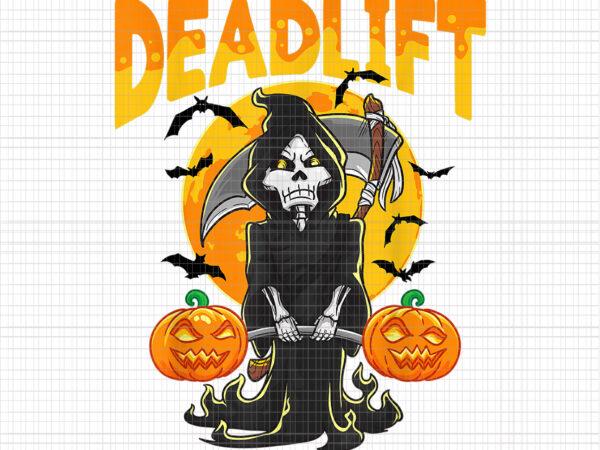 Deadlift Halloween Png, Funny Deadlift Bodybuilder Halloween Workout, Deadlift Workout, Halloween Vector, Halloween Png, Deadlift Png