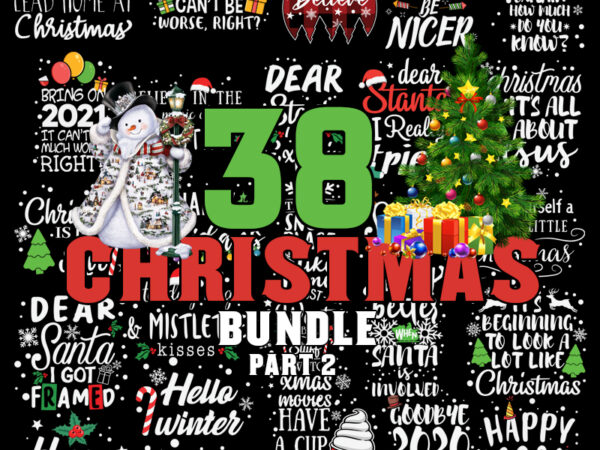 Christmas Bundle SVG Part 2, Merry Christmas svg, Christmas lights svg, christmas svg, snowman svg, Christmas Truck svg For Cricut Silhouette t shirt vector file