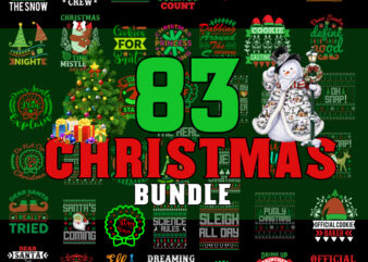 Christmas Bundle svg, Merry Christmas svg, Christmas lights svg, christmas svg, snowman svg, Christmas Truck svg For Cricut Silhouette t shirt vector file