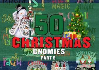 50 Christmas PNG Bundle part 5, Winter PNG, Santa PNG, Christmas Gnome PNG Bundle, Merry Christmas, Christmas Bundle, Funny Christmas Shirt