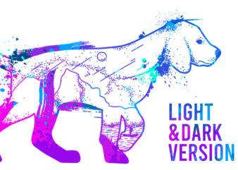 Stylish DOG (Light & Dark Edition)