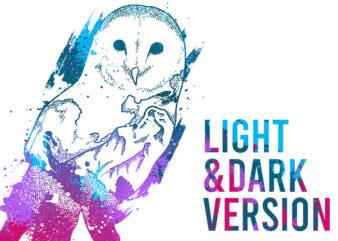 Stylish OWL (Light & Dark)
