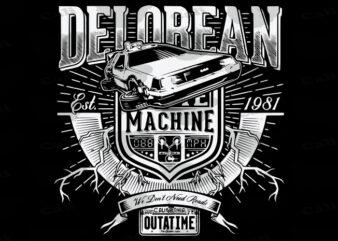 Delorean-We Don't Need Roads