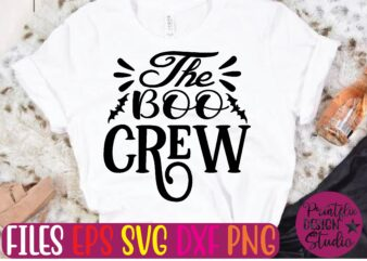 The boo crew graphic t shirt