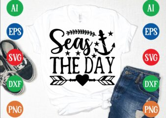 seas the day t shirt template