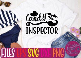 candy inspector t shirt template