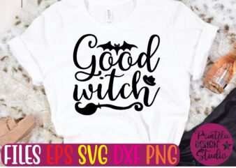 good witch t shirt template