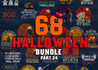 Halloween SVG Bundle part 24, Halloween svg, Ghost svg, Hocus Pocus svg, Pumpkin svg, Boo svg, Trick or Treat svg, Witch svg, Cricut, Silhouette PNG