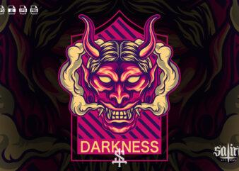 Darkness Oni Mask