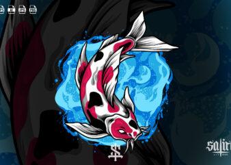 Koi Fish Illustration