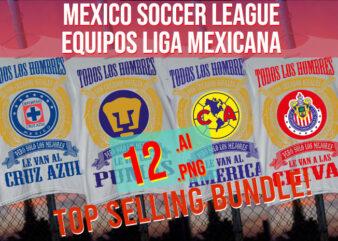 America Chivas Mexico Soccer League Equipos Liga Mexicana Best Seller Bundle
