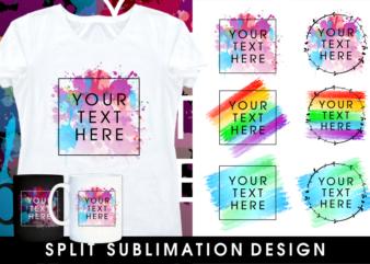 sublimation t shirt design bundle