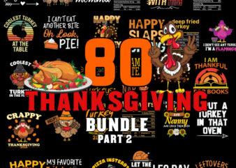 Turkey Thanksgiving Bundle part 2 SVG, Thanksgiving SVG Bundle, thankful svg, blessed svg, turkey svg, fall svg, svg designs, svg quotes, gather svg, gobble svg, grateful svg, png