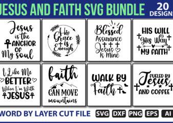 Jesus and Faith SVG Bundle vol.2