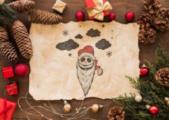 The Nightmare Before Christmas Jack Skellington Gift Diy Crafts Svg Files For Cricut, Silhouette Sublimation Files