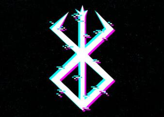 berserk glitch logo