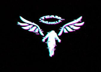 walhalla glitch logo