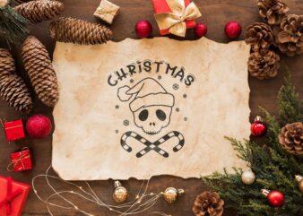 Christmas Jack Skellington Head Gift Idea Diy Crafts Svg Files For Cricut, Silhouette Sublimation Files