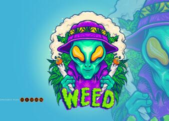 Alien Smoking Summer Cannabis Plants
