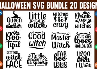 The halloween svg bundle t shirt designs for sale