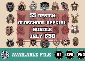 55 oldschool design special bundle