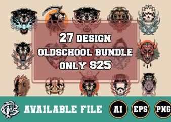 27 design oldschool bundle only $25