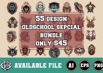 55 oldschool design mega bundle