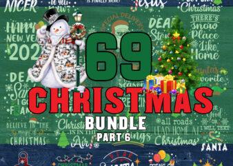 Christmas Bundle part 6 svg, Merry Christmas svg, Christmas lights svg, christmas svg, snowman svg For Cricut Silhouette
