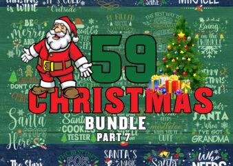 Christmas Bundle part 7 svg, Merry Christmas svg, Christmas lights svg, christmas svg, snowman svg For Cricut Silhouette