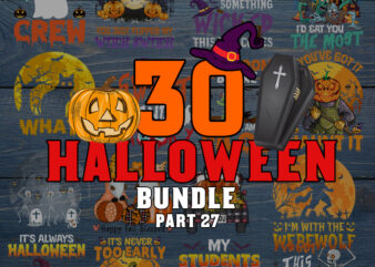 Halloween SVG Bundle part 27, Halloween svg, Ghost svg, Hocus Pocus svg, Pumpkin svg, Boo svg, Trick or Treat svg, Witch svg, Cricut, Silhouette PNG