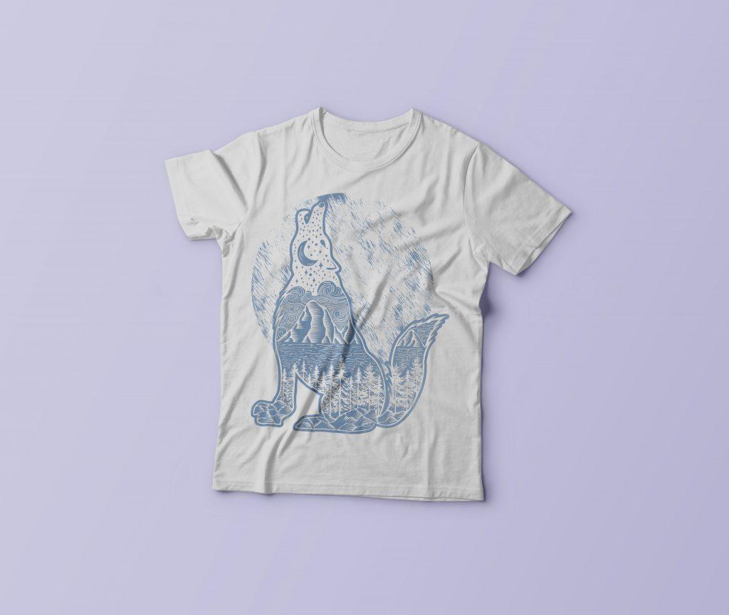 Dark Night vector shirt designs