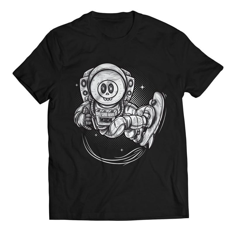 Anti Gravity – Astronaut commercial use t shirt designs