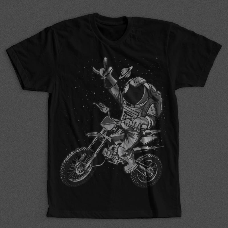 Astro Motocross vector shirt designs