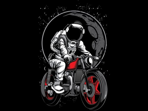 Astro Rider 600x450 - Astro Rider buy t shirt design
