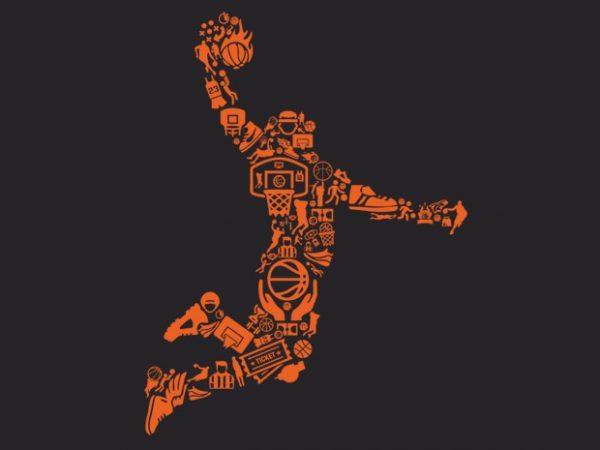 Basketball Player Preview 600x450 - Basketball Player buy t shirt design